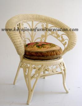 Kursi teras rotan duco export furniture rotan klasik