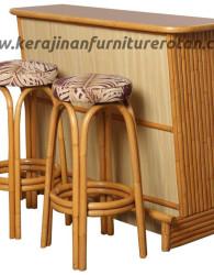 Bar stools rotan export set kursi meja rotan terbaru