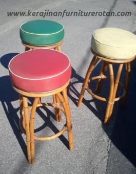 Kursi kafe rotan mini export furniture rotan minimalis