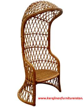 Kursi rotan retro modern export furniture rotan minimalis