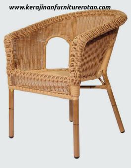Kursi makan rotan minimalis modern export furniture rotan minimalis elegan