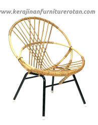 Kursi rotan slipper export furniture rotan minimalis