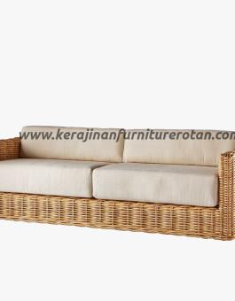 Sofa rotan minimalis 4 seater export furniture rotan modern