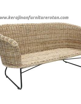 Kursi rotan minimalis bench export furniture rotan modern
