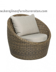 Sofa tamu rotan abu-abu export furniture rotan minimalis