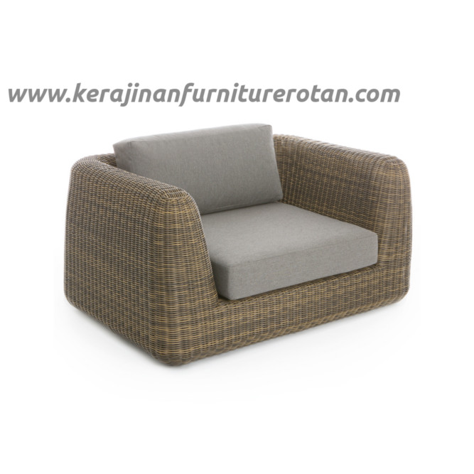 Sofa tamu rotan modern export furniture rotan elegan