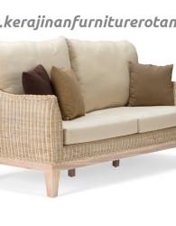 Sofa rotan minimalis export furniture rotan keluarga modern