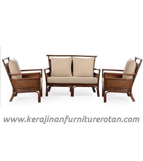 Furniture rotan export set sofa tamu rotan santai