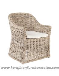 Furniture rotan export kursi rotan busa modern terbaru minimalis