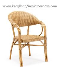 Furniture rotan export kursi rotan santai klasik modern mini