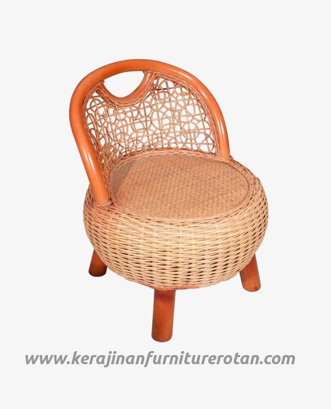 Furniture rotan export kursi santai rotan klasik modern mini