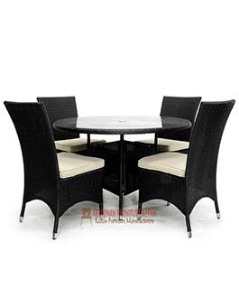 Kursi Ruang Makan Kerajinan Furniture Rotan KFR-AR-123