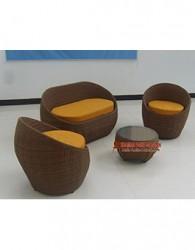 kursi rotan minimalis kerajinan furniture