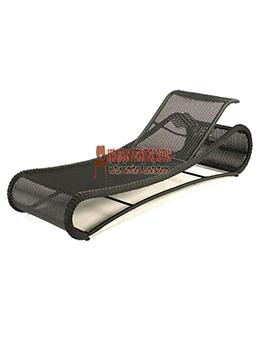 Furniture Jepara Murah Lounger Kerajinan Rotan KFR-AR-146