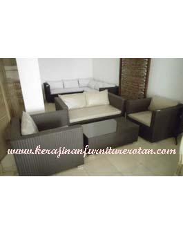 Sofa Sintetis Kerajinan Furniture Rotan KFR-AR-181