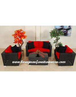 Meja Sofa Kerajinan Furniture Rotan KFR-AR-193