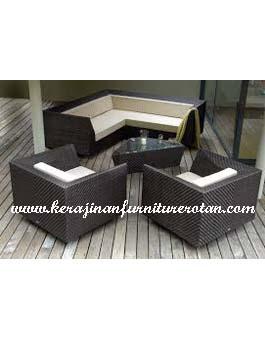Sofa Tamu Murah Kerajinan Furniture Rotan KFR-AR-182