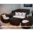 Minimalis Sofa Kerajinan Furniture Rotan KFR-AR-187
