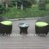 Meja Teras dengan gaya minimalis, teman yang nyaman untuk mengisi waktu bersantai anda.