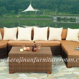 Sofa unik dengan bantalan kaki KFR-KTR-26