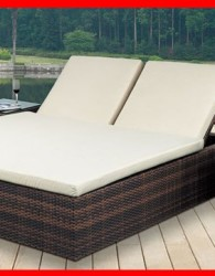 Furniture rotan minimalis moderen sofa santai