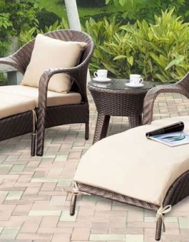 Kerajinan anyaman rotan kursi sofa minimalis | Kursi sofa minimalis KFR-KTR-53