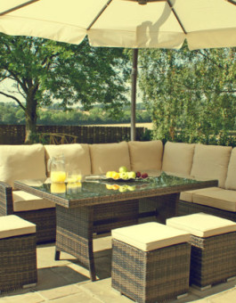 Sofa rotan minimalis Jepara untuk outdoor | Sofa rotan minimalis KFR-KTR-69