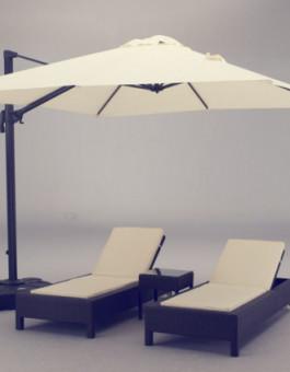 Sofa santai rotan gaya minimalis Jepara | sofa rotan sintetis KFR-KTR-71