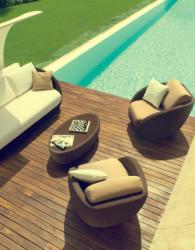 Sofa rotan jepara berhgaya minimalis moderen yang elegan