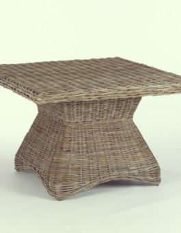 Meja rotan raflesia 3 | Meja dengan anyaman rotan sintetis KFR-KTR-85