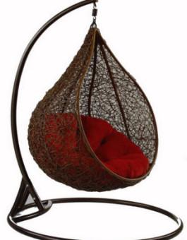 Kursi sofa minimalis ayunan onion rotan