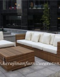 Kursi Sofa Tamu Furniture Rotan