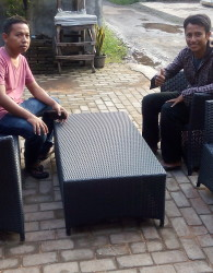 Kursi Sofa Tamu Furniture Rotan Jepara