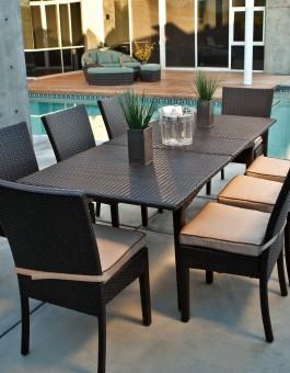 Kursi Makan Furniture Rotan