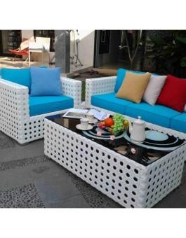 Supplier Kerajinan Sofa Furniture Rotan Sintetis