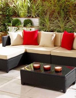 Model Kursi Taman Furniture Rotan Sintetis