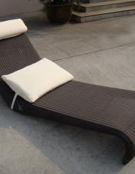 Furniture Rotan Louger Kursi Sofa Santai Pantai