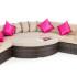 Kursi Sofa Furniture Rotan Sintetis Manufacture