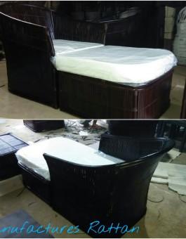 Jual Mebel Kursi Sofa Rotan Bambu