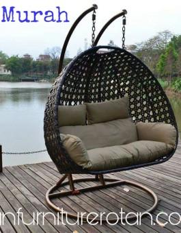 Furniture Ayunan Kursi Rotan Gantung