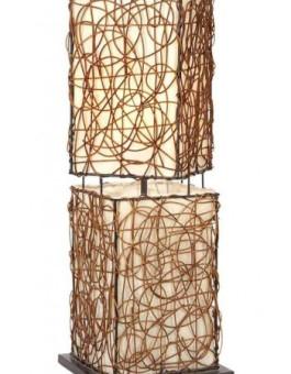 Lampu hias rotan antik furniture rotan antik modern