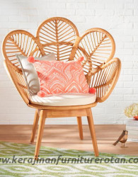 Kursi taman rotan minimalis furniture rotan export modern