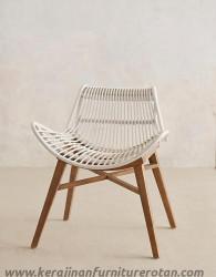 Kursi rotan serba guna furniture rotan export minimalis