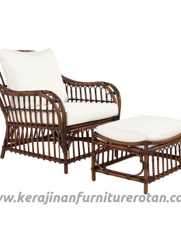 Set kursi santai rotan furniture rotan minimalis export