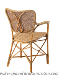 Kursi rotan kupu-kupu furniture rotan klasik