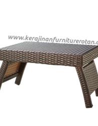 Meja minimalis rotan furniture rotan export minimalis terbaru
