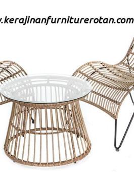 Set kursi santai rotan export minimalis furniture rotan minimalis