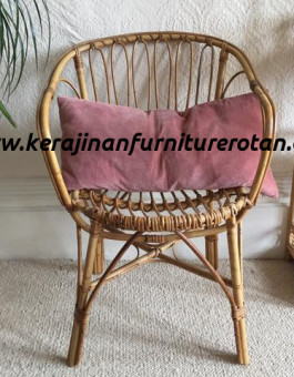 Kursi santai rotan bantal busa export furniture rotan modern