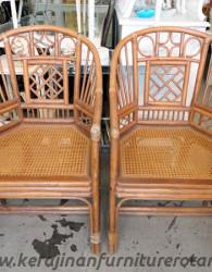 Kursi tamu retro klasik export furniture rotan klasik