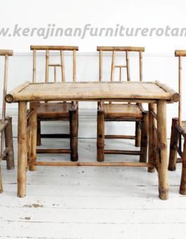 Kursi tamu rotan export furniture rotan bambu
